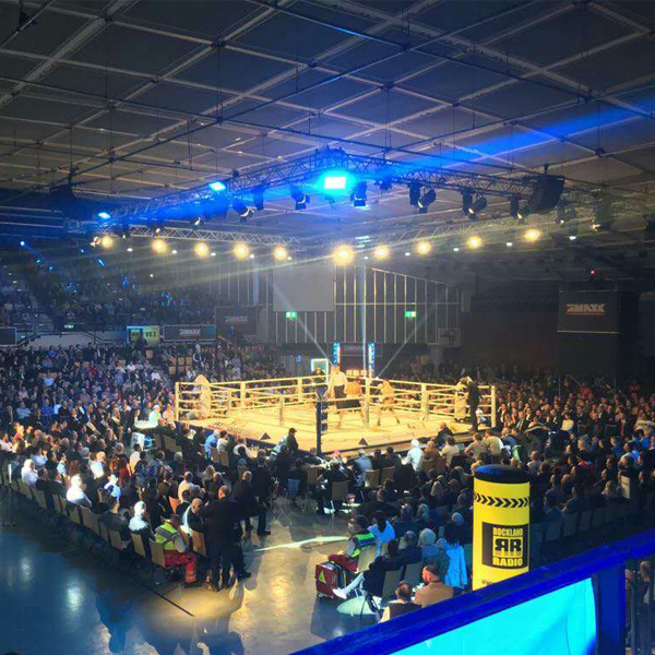 Led Fresnel Spotlight for boxing match