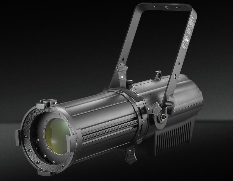 What are the components of led ellipsoidal light