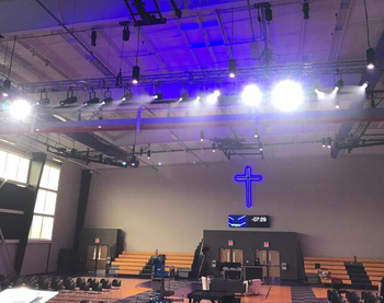 Led Profile Light In American Church