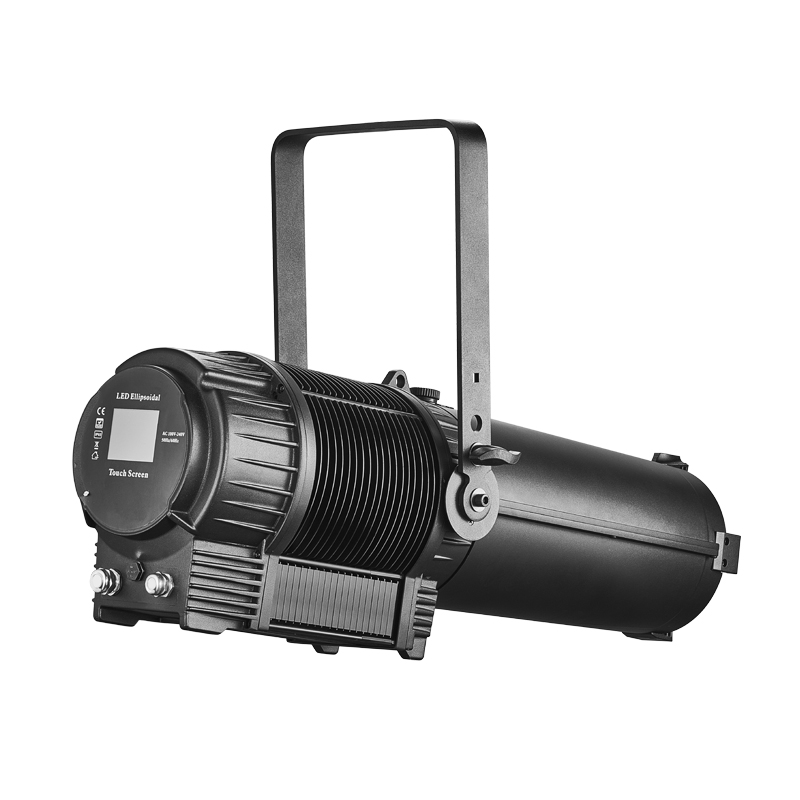 TH-344 300W RGBAL LED IP65 Rated Ellipsoidal With Auto Zoom Auto Cutting
